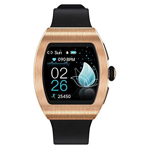Aliwisdom Smartwatch für Damen Kinder, 1,22 Zoll Fashion Smartwatch Fitness Uhr Wasserdicht Sport Armbanduhr Fitness Tracker für iOS Android, Mit Whatsapp SMS-Lesefunktion (Roségold)