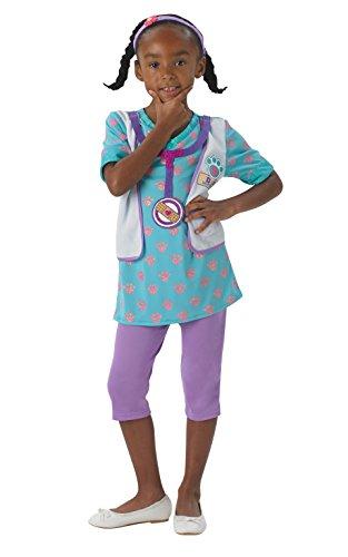 Rubie's-déguisement officiel - Disney- Déguisement Pour Enfant Docteur La Peluche - Taille M- I-610381M