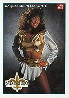 1992 Lime Rock Pro Cheerleaders Football #47 Raquel Michelle White New Orleans Saints