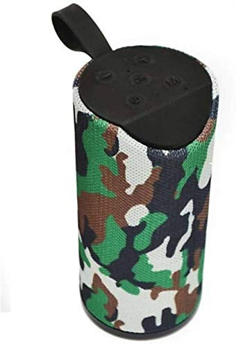 SPOY TG 113 Bluetooth Speaker Portable Wireless Play Compatible All Mobile Phone – Military