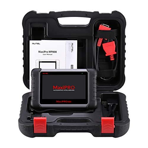 Autel MP808 OBD2 Scanner, OE-Level-Diagnose, bidirektionale Steuerung für alle Systeme, mit 18 besonderen Funktionen, AutoVIN, aktualisierte Version von DS708, gleich wie DS808, MS906