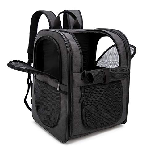apollo walker Pet Carrier Backpack for Large/Small Cats and Dogs, Puppies, Safety Features and...