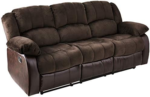 Best NHI Express Aiden Motion Sofa (1 Pack), Peat