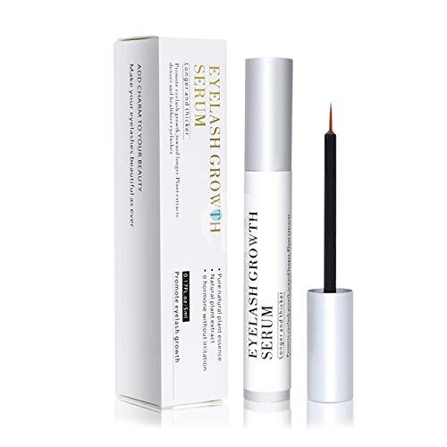 S-TROUBLE 5 ML Naturel Cils Croissance Sérum Boost Rapide Enhancer Liquide pour Cils Plus Longs Plus Épais Plus Complets Traitement Médical Maquillage Cosmétique