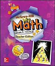McGraw-Hill My Math Teacher Edition Grade 5 Volume 2