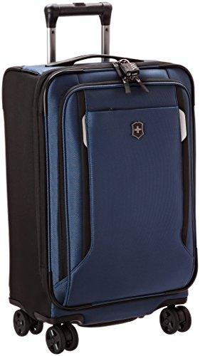 Victorinox Werks Traveler 5.0 WT Softside Spinner Luggage, Black, Carry-On (22')