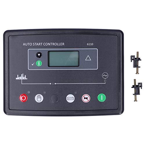 Controlador automático para Grupo electrógeno diésel Dse6110 DC 8V-35V Pantalla LCD de Inicio automático Módulo de Pantalla Pantalla de Control del Panel