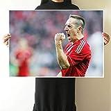 Nationalmannschaft Star Poster Französisch Fußballstar