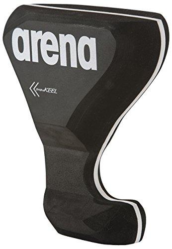 Arena Swim Keel, Accessorio da Allenamento Unisex Adulto, Nero (Black/Grey), Taglia Unica