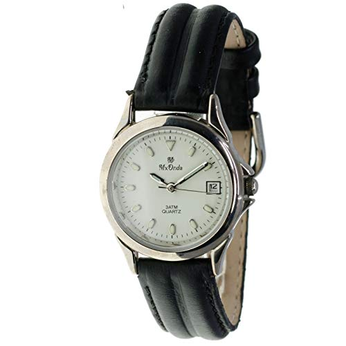 MX-Onda Mod. 00242 - Reloj de Cuarzo analógico para Mujer con Calendario