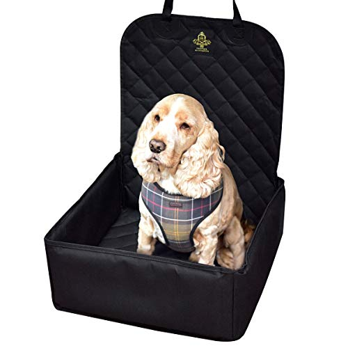 Dog Car Seat with Safety Harness Seat Belt - Pet Puppy Waterproof Travel...