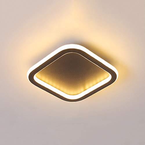 GLBS Corredor Downlight 12W/18W/24W Creatividad Cuadrado LED De Entrada Sala Iluminación Empotrada De Techo Ultra Fina De Aluminio Hierro Negocio Casero Luz del Panel