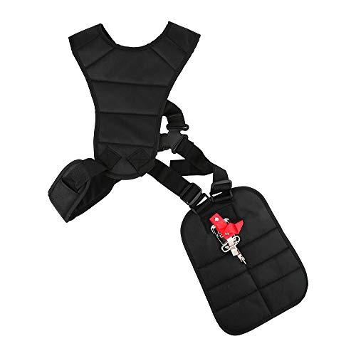 XQMY - Arnés para desbrozadora, cortador de cepillo, correa de hombro profesional, cortador de escobillas y desbrozadora accesorios para césped de jardín