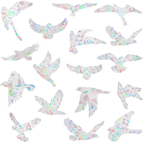Outus 20 Stücke Vogel Anti Kollisions Bild