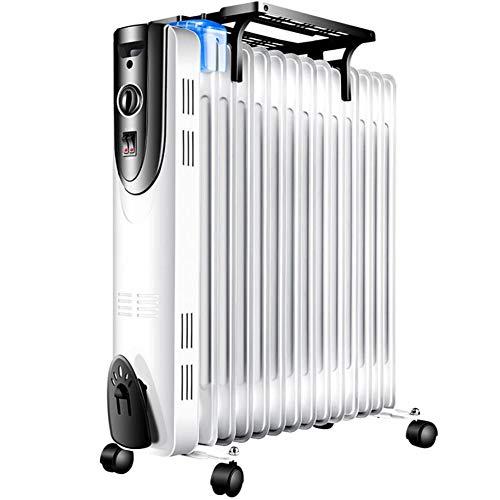 HKDJ-800-2200W draagbare oliegevulde radiator, elektrische draagbare verwarming, Dump Power uit en bescherming tegen oververhitting, snel verhitten, geen scherpe zwemvliezen, veilig design