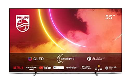 TV PHILIPS 55 55OLED805 UHD OLED Android AMBIL P5