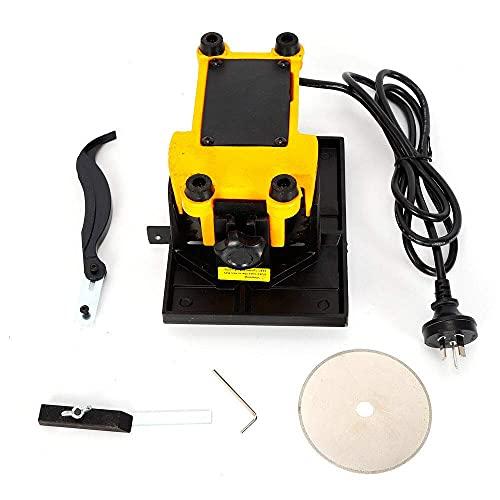 HYYK Mini Sierra de Mesa 4500 RPM, Mesa de Corte eléctrica con Cuchillas, Sierra Circular Corte de Sierra eléctrica Conveniente y fácil de Usar