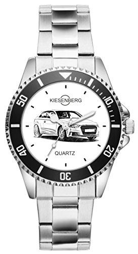 Geschenk für Audi A3 Auto Fans Fahrer Kiesenberg Uhr 10159