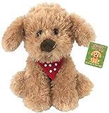 Plush 20cm, Scruffs The Cockapoo , Puppy Dog With Polka Dot neckerchief.NEWBORN