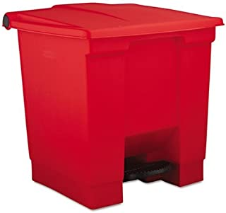 Rubbermaid Step-On Containers - 6143-RED SEPTLS6406143RED [Misc.]
