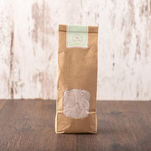 süssundclever.de® Bio Pudding-Pulver | Nuß-Nougat | 500 g | unbehandelt | plastikfrei und ökologisch-nachhaltig abgepackt
