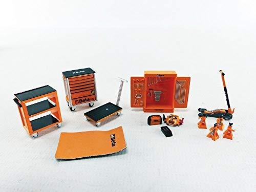 True Scale Miniatures TSM13AC26 Beta Tool Kit Garage - maßstab 1/43 - Sammlerstück Miniatur