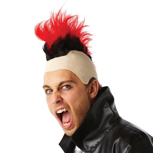 80'S MOHAWK- RED