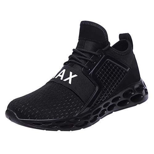 Zapatillas Running Hombre Zapatillas Deportivas Transpirables Aire Libre Zapatos para Correr Gimnasio Sneakers