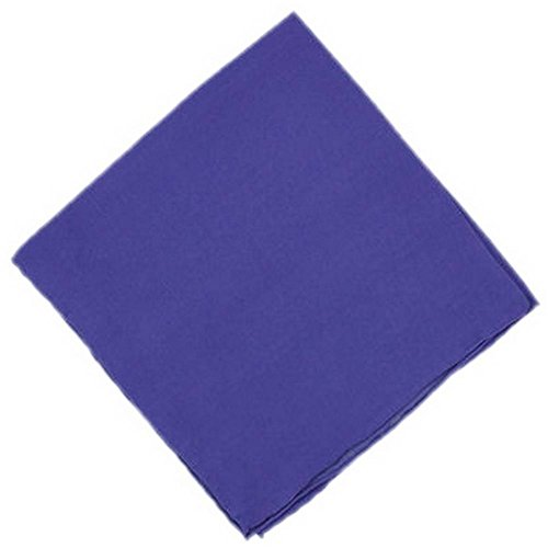 Un mouchoir en soie pourpre unie Michelsons