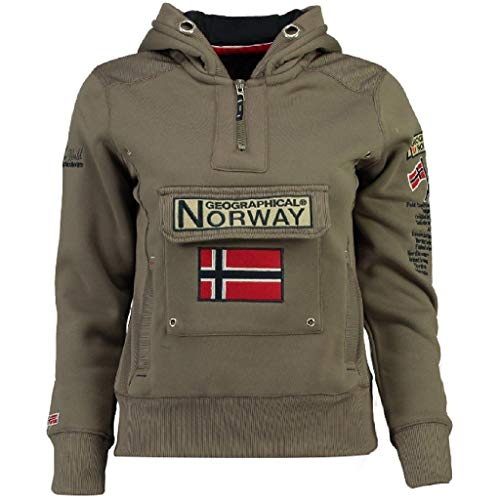 Geographical Norway - Sudadera DE Mujer GYMCLASS Taupe M