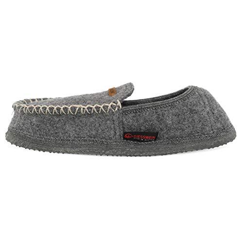 Giesswein Temmels, Zapatillas de estar por casa para Mujer, Gris (Schiefer 017), 41 EU
