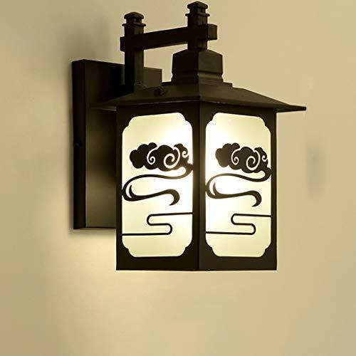 TXTC waterdichte patio wandlamp lantaarn buiten buitenwandlampen boerderij wandlamp voor de tuin/veranda/tuin decoreren