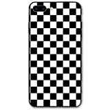 HNJZ-GS Cuadros en Blanco y Negro, para iPhone 7 Plus Funda, para iPhone 8 Plus Funda, Tecnología de absorción de Impactos Funda Protectora Suave para iPhone 7 Plus (2016) / iPhone 8 Plus (2017)