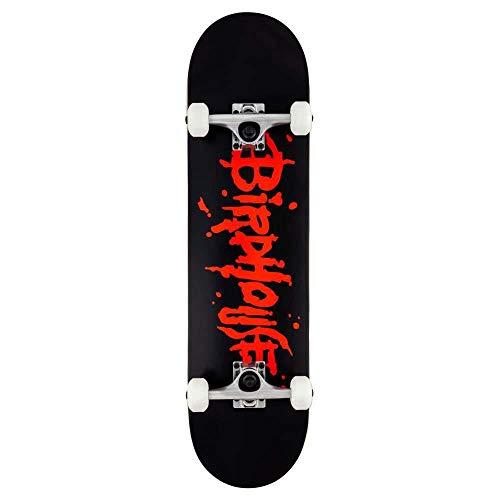 Birdhouse Skateboard, Stage 1 Blood Logo, 20,3 cm, Schwarz