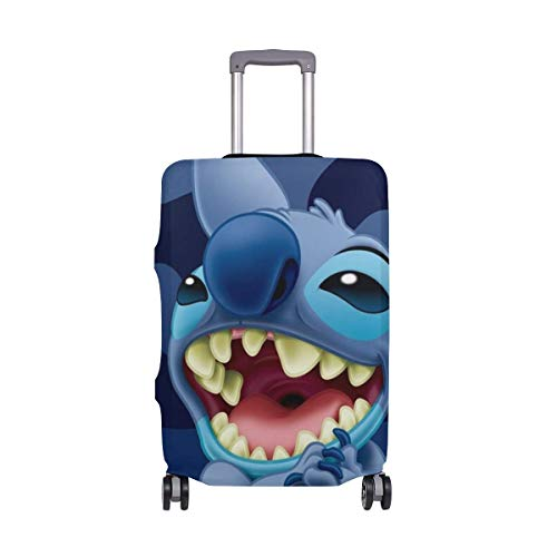 Lilo Stitch Travel Funda para Equipaje Protector de Maleta Fundas de Equipaje Lavables
