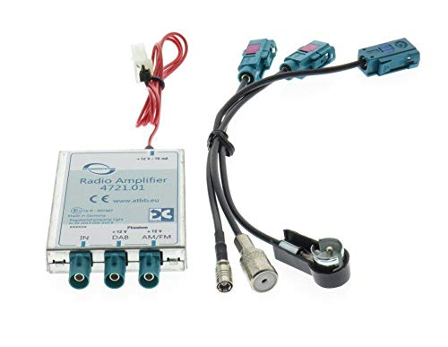 Universal DAB/DAB+ / FM Splitter - ISO Anschlüsse
