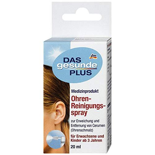 Das gesunde Plus Ohren-Reinigungsspray 20ml (auch für Hunde geeignet)