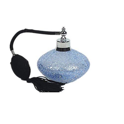Gogh Bouteille de Parfum Vintage Atomiseur avec Black Tassel, Vaporisateur Rechargeable Parfum Vide, Remplissage Entonnoir et Box Inclus, 100ML