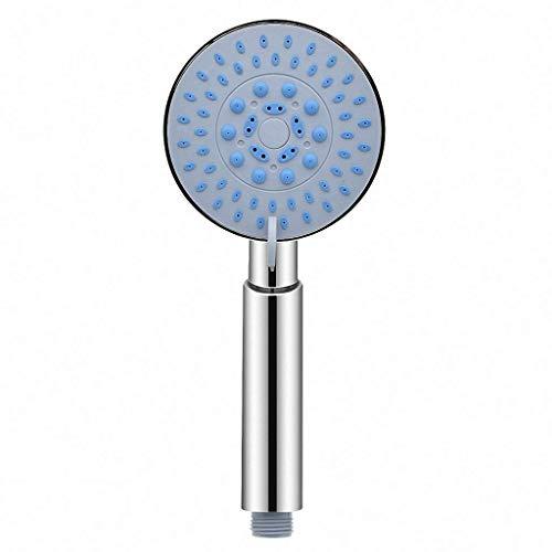 Grifo ducha Multifuncional 5 Modo de cromo grande ducha auricular Cabeza Reemplaza universal portátil Inicio Baño de ahorro de agua accesorios Ducha