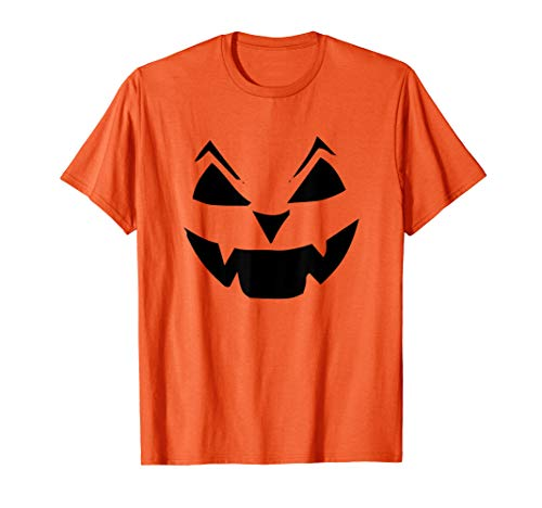 Halloween Kürbiskopf Gruselkostüm T-Shirt