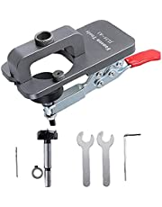 Gångjärn Jig 35mm Hole Öppnare Drilling Guide Locator verktyg för Door Skåp träbearbetning DIY Snickeri Tool Tillbehör