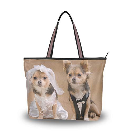 NaiiaN Bolsos de boda para perros, bolsos de hombro, bolso de mano,...