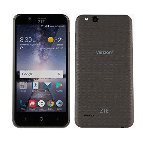 ZTE VZW-Z839PP Blade Vantage 5 16GB 1.1GHz 2GB Prepaid LTE Verizon Smartphone, Black, Carrier Locked to Verizon Prepaid
