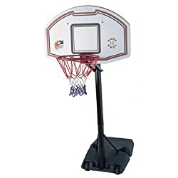 New Sure Shot Quick Adjust Portable Basketball Unit With Eb Logo Backboard The 512 Quick Adjust unit is an extremely durable unit offering three height settings making it ideal for secondary school use. The unit is adjusted by releasing a catch behin...