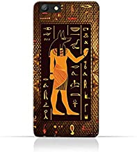 Oppo A57 TPU Silicone Case with Egyptian Hieroglyphs Pattern