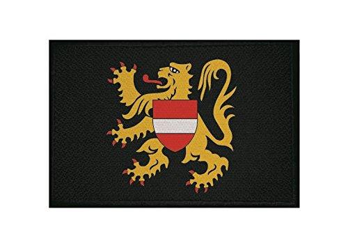 U24 patch vlam Brabant vlag opstrijkapplicatie 9 x 6 cm