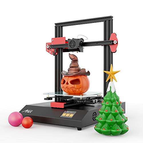 Anet ET4 3D Printer, DIY 3D Printer, Matrix Automatic Levelling with Resume Printing Function, All-Metal 3D Printer with Industrial Grade Chipset, 220X220X250mm