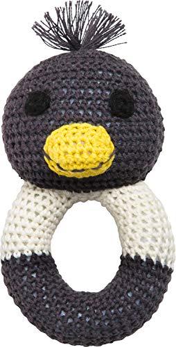 PINGO by Frank Fischer Hochet pingouin en crochet