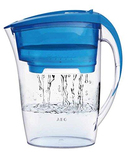 AEG AWFLJP2 Wasserfilterkanne Aqua Sense Pure für 1,7 L gefiltertes Wasser, blau