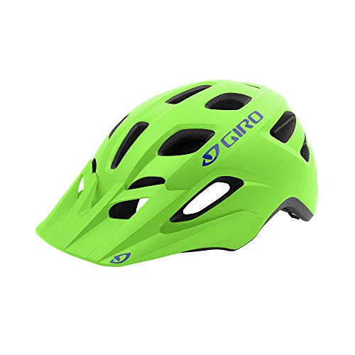 Giro Tremor MIPS Youth Visor MTB Bike Cycling Helmet - Universal Youth (50-57 cm), Matte Bright Green (2021)